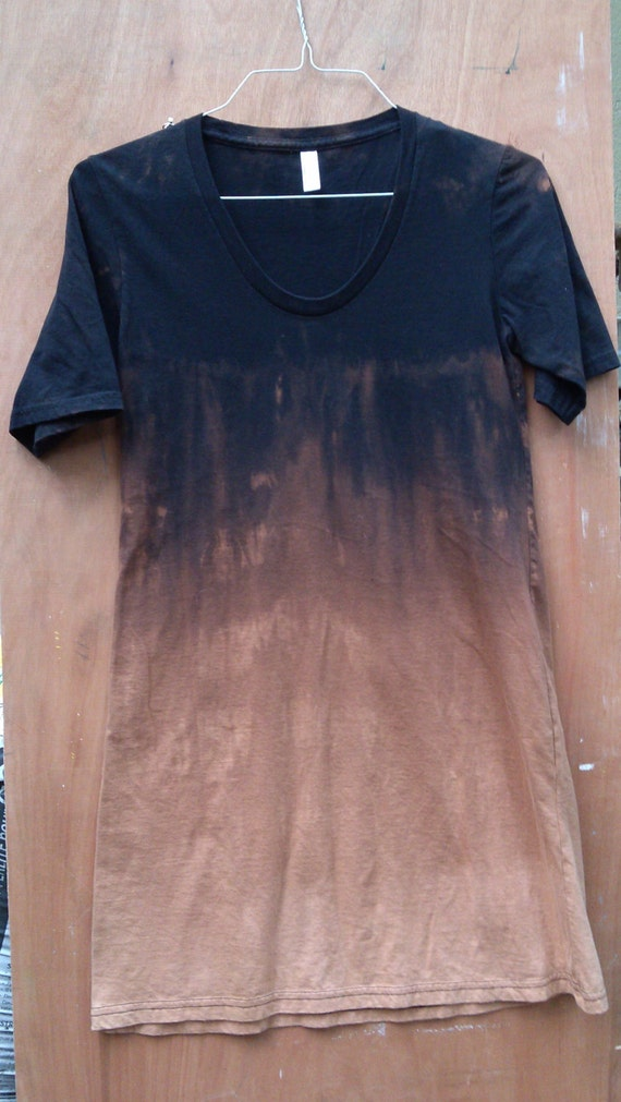 T shirt dress ombre dye 100 cotton tie dye dress casual wear for 100 cotton dress shirt