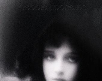 Portrait art photograph collage