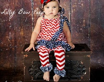 Leg Warmers -4th Of July Leg Warmers-Leggings-Baby Girl Clothes-Patriotic-Newborn Girl-Infant-Toddler-Child-Military-American Red White Blue