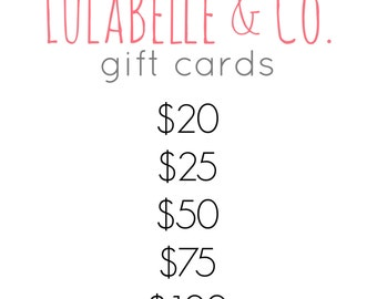 LulaBelle & Co. Gift Card