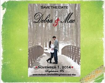 Custom Photo Save the Date