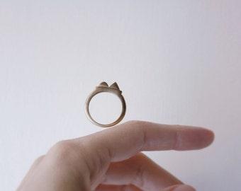 ENLUMINURE // No7 //  bronze ring