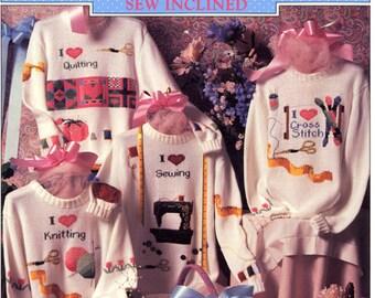Sew Inclined duplicate stitch patterns by Alma Lynne