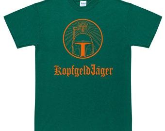 KopfgeldJager Bounty Hunter In German T Shirt