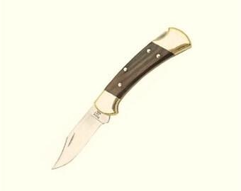 Engraved Genuine BUCK 112 Ranger Pocket Knife Groomsman gift Custom Knives Folding knife Personalized gift Custom wedding gift