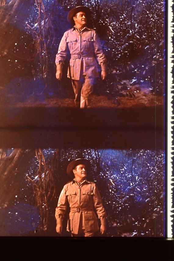Bob Hope - Call Me Bwana - Anita Ekberg - 1 Strip of 5 35mm Unmounted film cells ONLY 1 STRIP AVAILABLE of each film cell