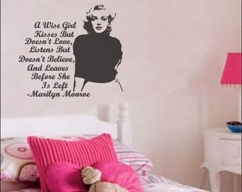 Marilyn Monroe Wall Decal