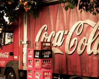 Coke, Coca cola Truc in Sevilla, photography