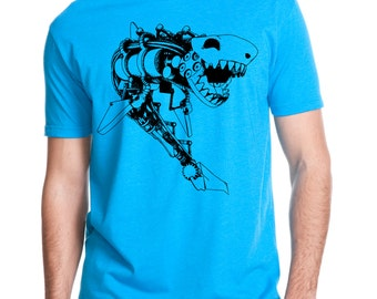 Steampunk Shark Shirt 6210
