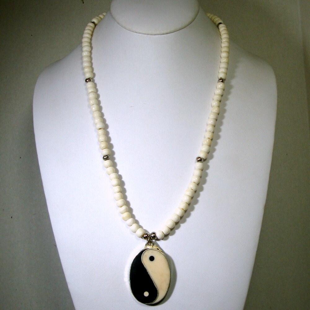 oxbone yin yang yang yin pendant necklace in every