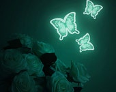 Luminous Butterfly deco sticker, BUTTERFLY EFFECT (glow in the dark interior wall sticker)