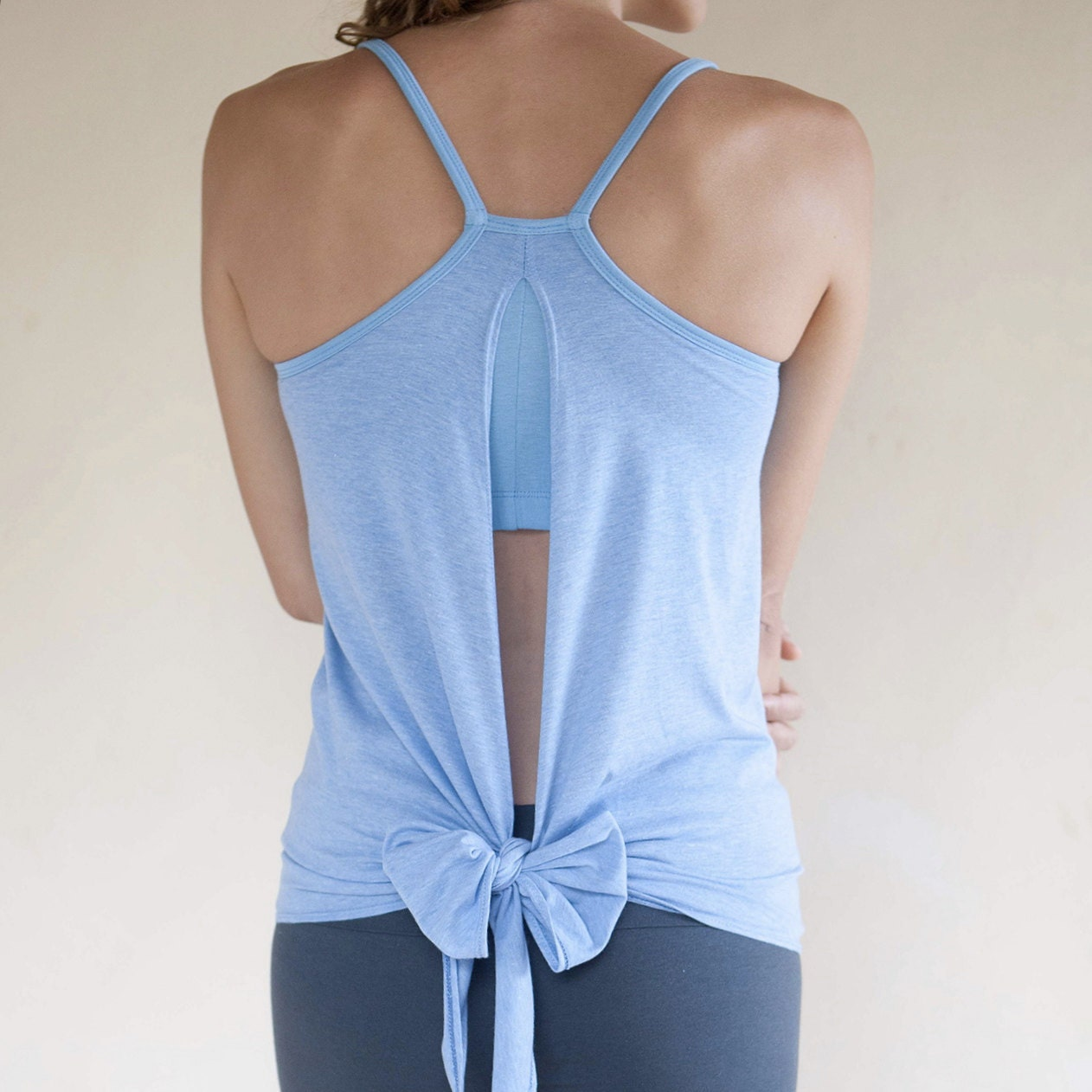 Backless Yoga Tank Ekadasa With Built In Bra By