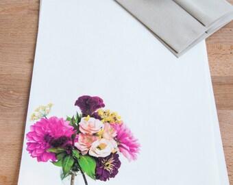 Letter Writing Set - Pink Bouquet - Letter Paper