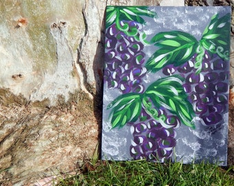 Grandma's Grapes - 8x10