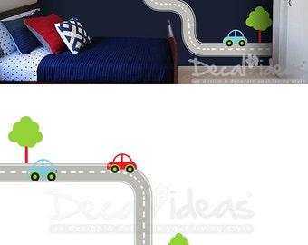 Wall Decal Kids Etsy - Wall decals cars