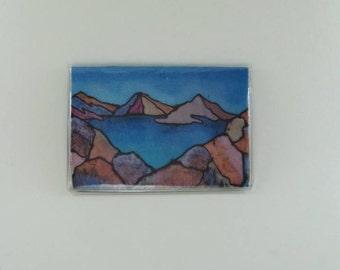"""Silk Art Cardholder """"Sierra"""""""