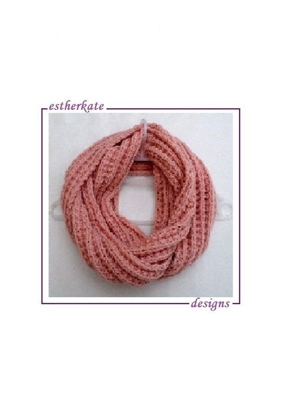 Knitting Pattern Pdf Ribbed Broken Infinity By