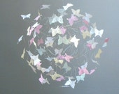Butterfly Mobiles for Nursery, Baby Girl Mobiles, Butterfly Nursery Decor, Crib Mobiles