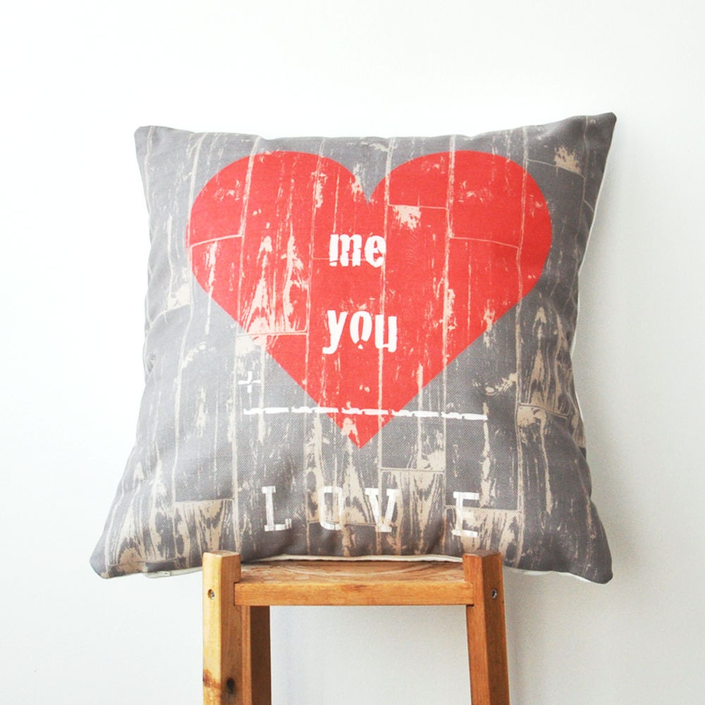 Valentine Pillow Decorative Love Pillows Throw Pillow