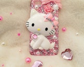 """Charmmy Kitty """"Loves The Pink Bling"""" Case for iPhone 5/5s and iPhone 6"""