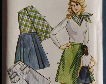 1972  Ladies' Skirt Variations - Kwik Sew Sewing Pattern 360