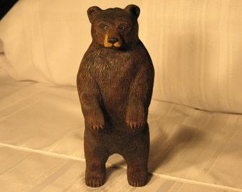 Black Bear Carving