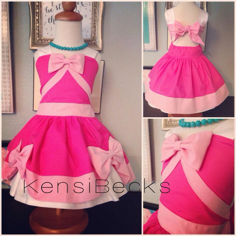 Disney Friendship Dress Cinderella: Pink Princess Birthday Cinderella Mouse Dress Disney Inspired