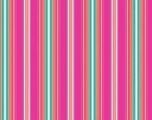 Striped fabric in Lime Fuchsia and Green from the Brigitte Fabric Collection by Michelle D'Amore Designs forBenartex Fabrics