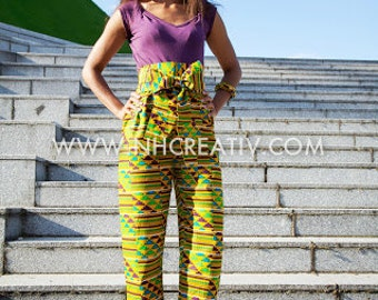 "High waist Pants ""Adéna"""