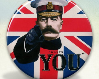 Lord Kitchener Wants You Pocket Mirror tartx
