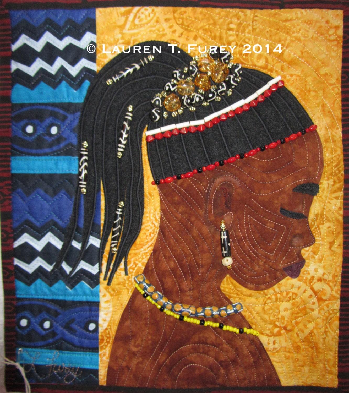 Mali Art Quilt Folk Art African Folktales By Fureyousart