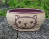 Cat Bowl in Purple