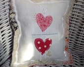 Shabby Valentine Decorative Pillow - Hold on to Each Other