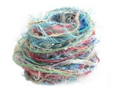 Mixed fibers, Creative Yarn Variety Pack, Pastel Playtime, 30 metres, blue orange pink green, inspiration craft supplies