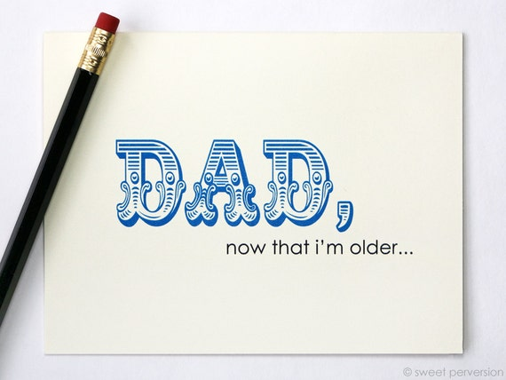 Father's Day Card. You Don't Suck As Much. Birthday Card For Dad. Funny Fathers Day Card.