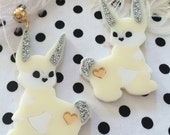 Funny Bunny Earrings