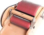 ASHFORD DRUM CARDER with fiber