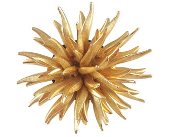 Abigail Gold Spike Ring