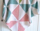 Pinwheel Baby Blanket - Free Shipping!
