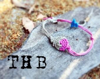 Macrame Hemp Friendship Bracelet