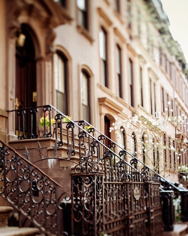 The Apartment NYC Print Carrie Bradshaw's Apartment In