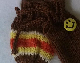 70s Thing Willie Warmer - Knitted Accessory for men, mature