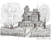 "12""x16"" Practical Magic House"