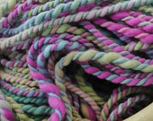 Hand Spun Hand Painted Merino Wool Yarn 2ply