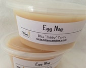 EGG NOG - Two 2 oz Bliss Soy Tubby Tart Melts
