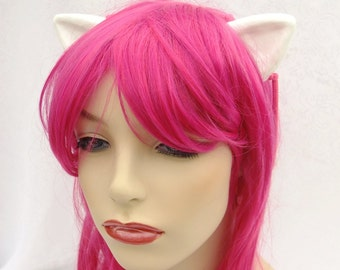 Diclonius Horns, Elfen Lied, Nyuu, Nana, Lucy, Cosplay Horns, Elf Ears- Flesh or White- Choose Your Color