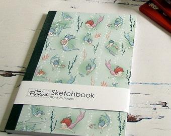 Sea Babies A5 Sketch book