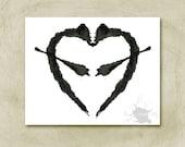 Rorschach Ink Blot Art print no 7