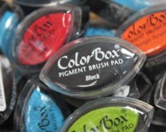 ColorBox Cat's Eye PIGMENT Ink Pad - BLACK