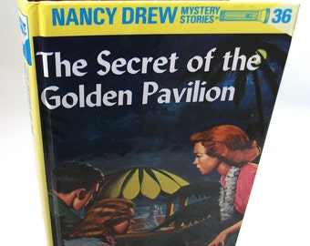 Nancy Drew Secret of the Golden Pavilion Tablet Device Cover for Nook Kobo Kindle Ereader Case